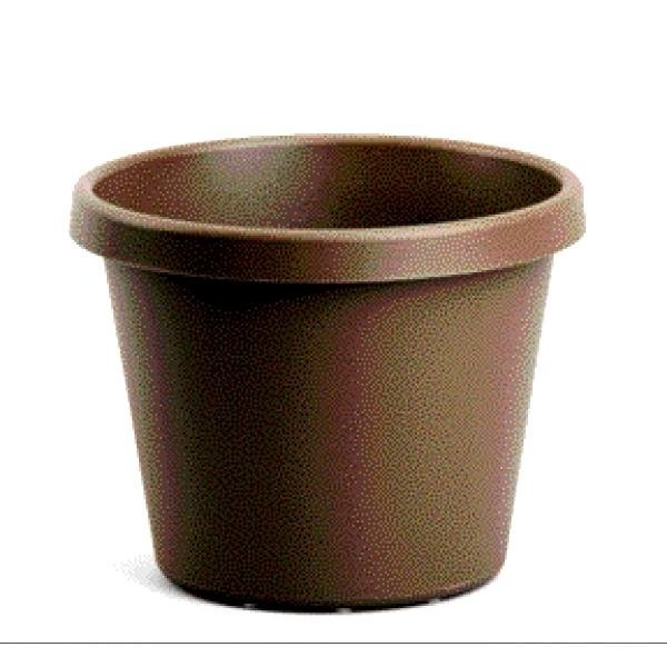 Chocolate Brown Flower Planter / Size (6 in.) Best Price