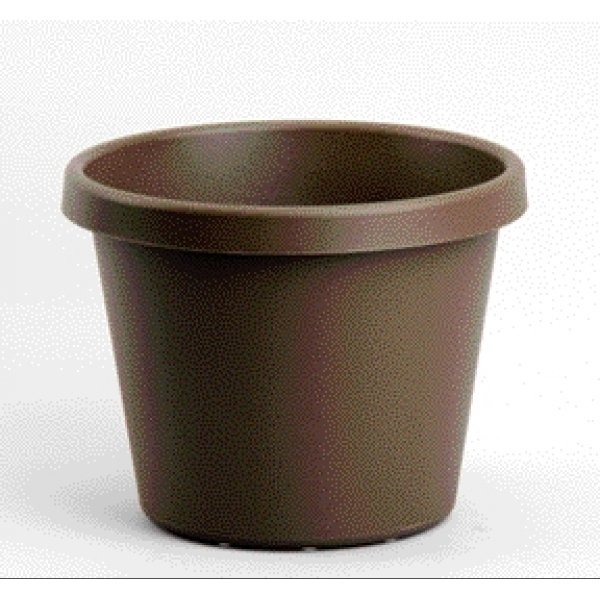 Chocolate Brown Flower Planter / Size (8 in) Best Price