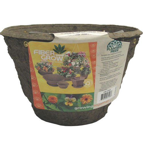Fiber Hanging Basket  / Style (12 in. Beehive) Best Price
