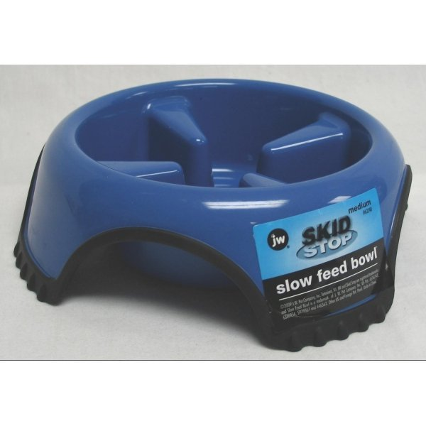Skid Stop Pet Bowl / Size Medium