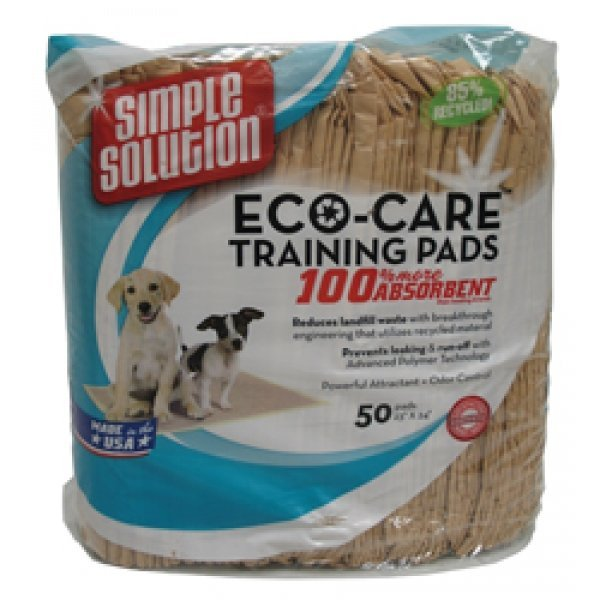 Eco-Care Dog Training Pads - 50 pk. Best Price