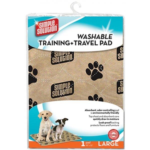 Simple Solution Washable Training Travel Pad / Size Large