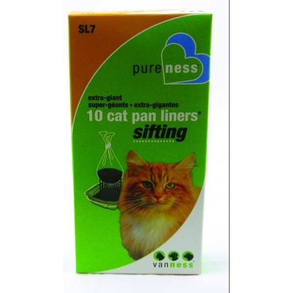 Sifting Cat Pan Liners 22x18 In Giant Cat Supplies