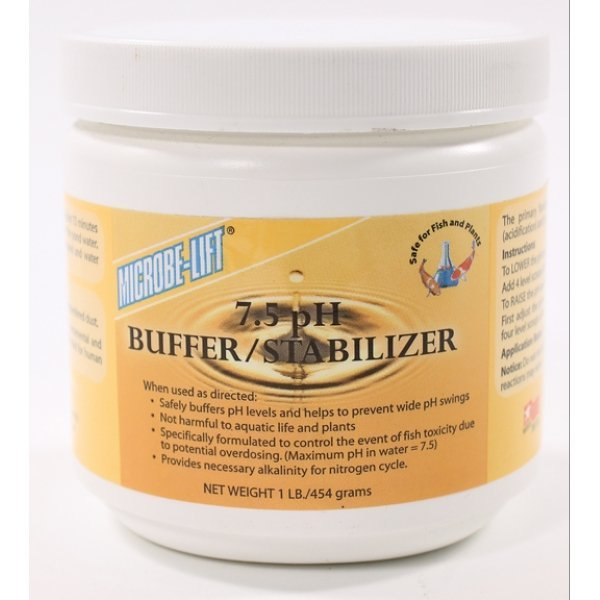 Microbe-lift Buffer/ Stabilizer - 7.5 PH - 1 lb. Best Price