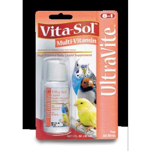Vita-Sol Vitamin Supplement For Birds 1 oz. Best Price