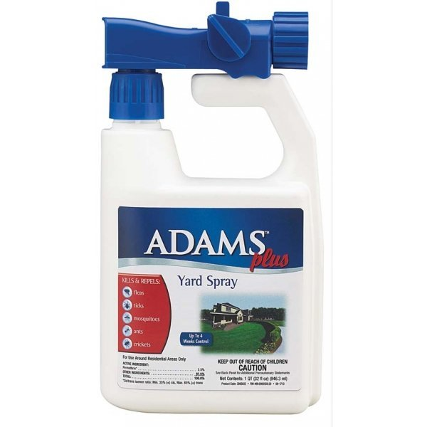 Adams Plus Yard Spray - Flea and Tick Repellant - 32 oz. Best Price