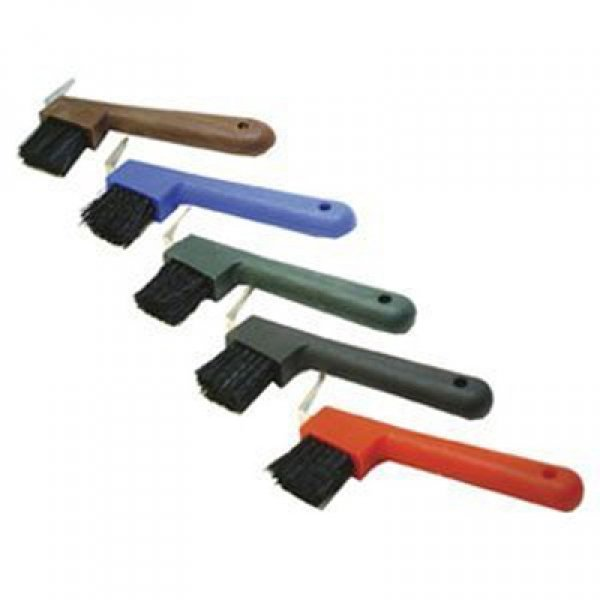 Hoof Pick with Brush 7 inches / Color (Blue) Best Price