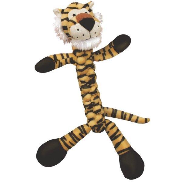 Kong Braidz Dog Toy / Size Large Tiger