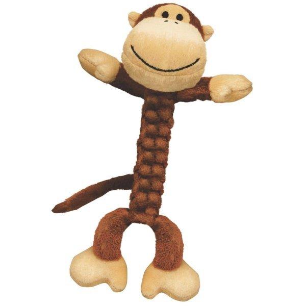 Kong Braidz Dog Toy / Size Large Monkey