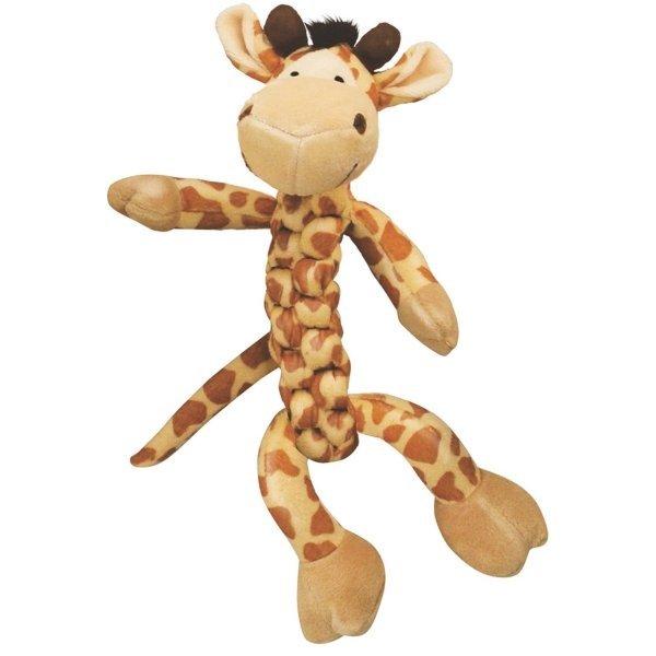 Kong Braidz Dog Toy / Size Large Giraffe