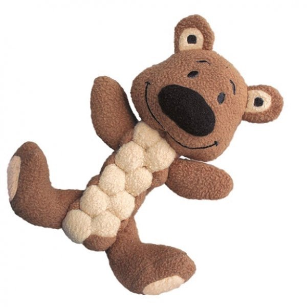 Pudge Braidz Dog Toy / Type (Bear) Best Price