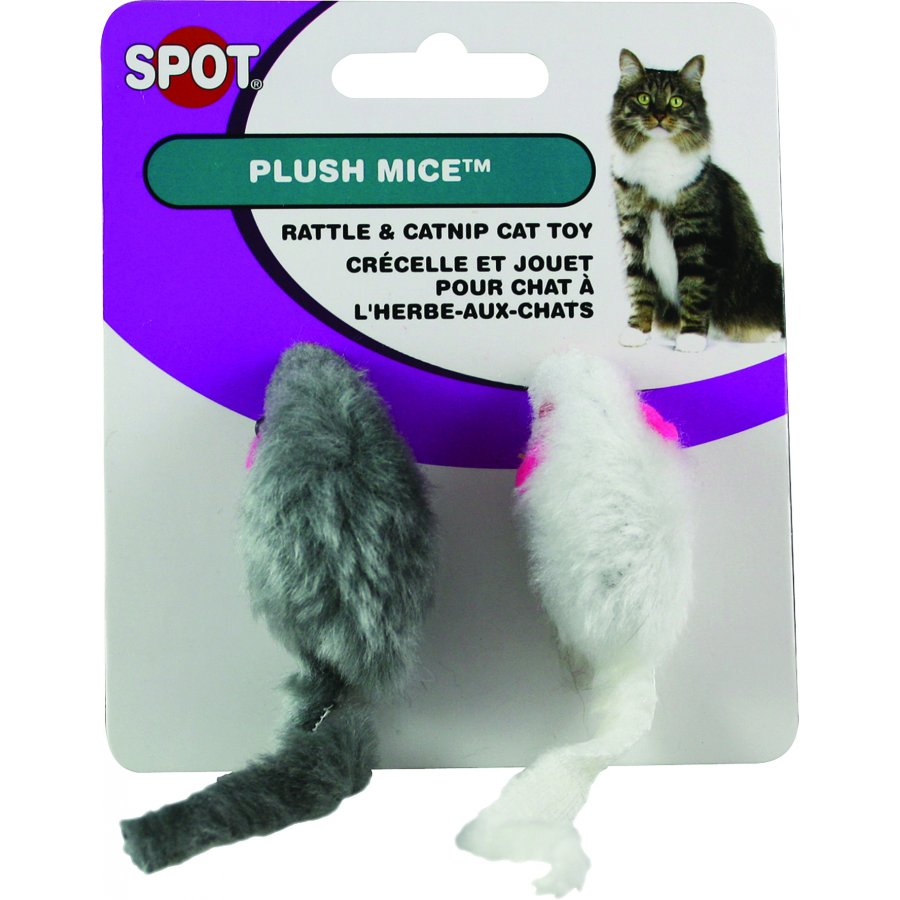 Plush Mouse Twin Pack