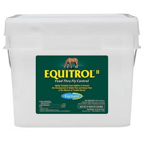 Equitrol II  Feed-Thru Fly Control / Size (10 lbs.) Best Price