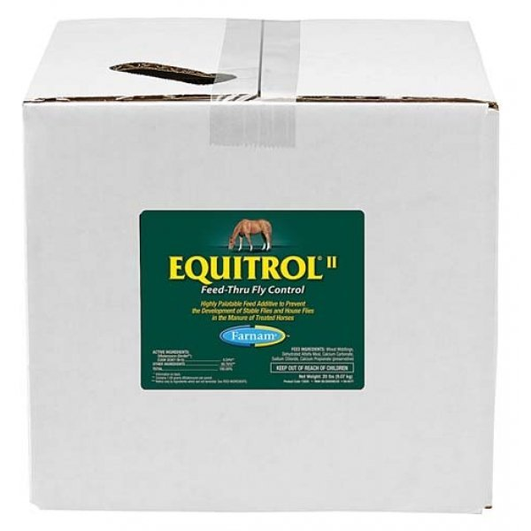 Equitrol II  Feed-Thru Fly Control / Size (20 lbs.) Best Price
