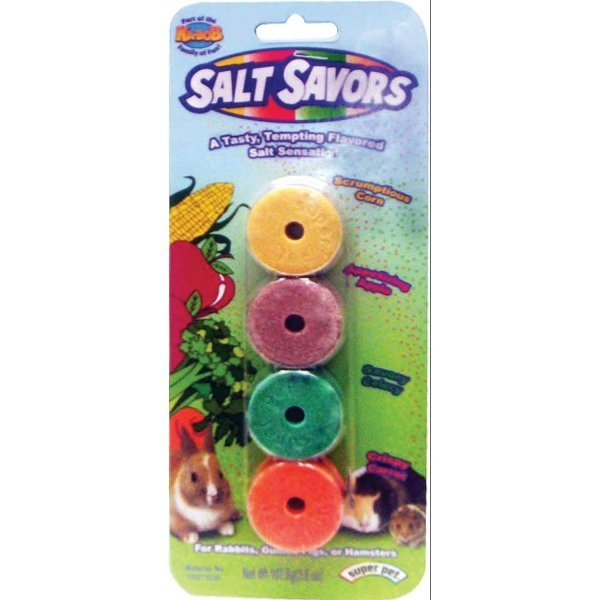 Salt Savors Four Pack for Small Animals - 4 pk. Best Price