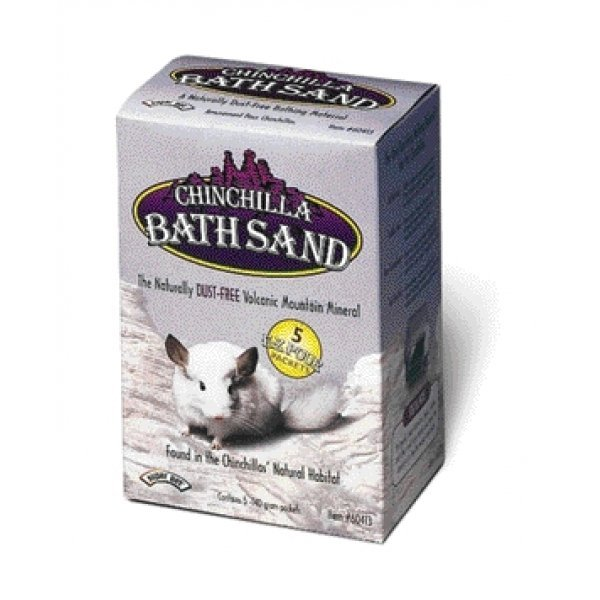 Chinchilla Bath Sand 5 Pack
