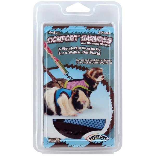 Harness with Stretchy Stroller for Small Animals / Size (Medium) Best Price