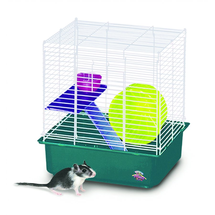 My First Hamster Home 2 Story Cage For Small Pets Rodent