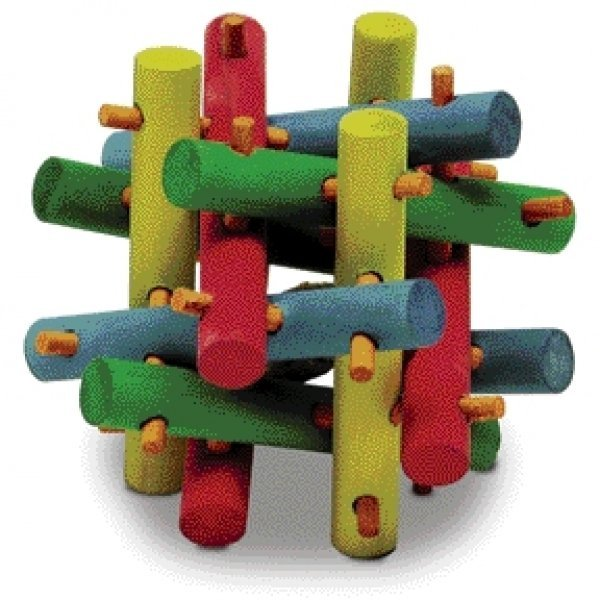Nut Knot Nibbler For Small Animals / Size Medium