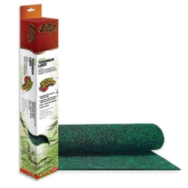 Terrarium Liner For Reptiles / Type Green/40/50 Gal