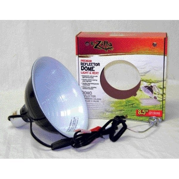 Premium Reflector Dome For Reptiles / Size 8.5 In.