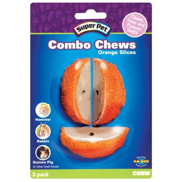 Small Pet Combo Chew 3 pk. / Type (Orange) Best Price