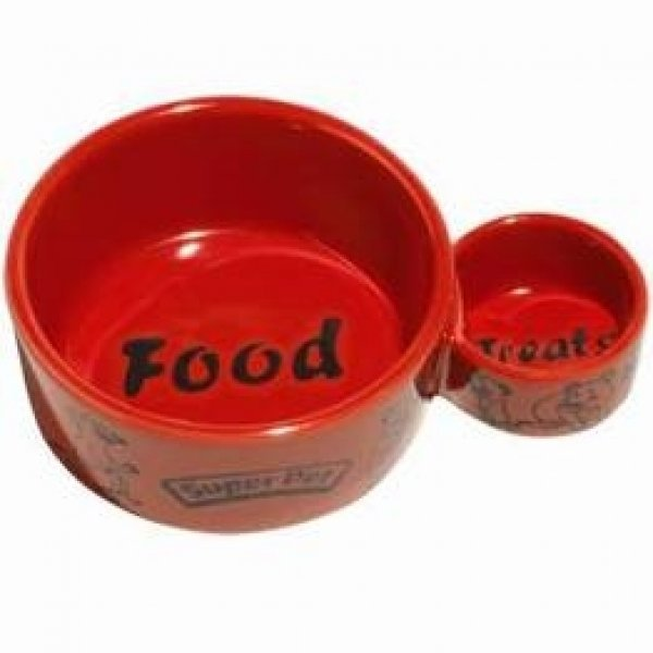 Eat-n-Treat Ceramic Pet Dish - Small Best Price