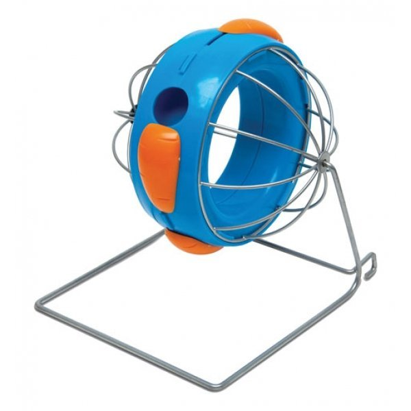 Super Pet Rollin Ball Hay And Treat Dispenser