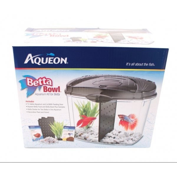 Aqueon betta bowl kit aquarium supplies gregrobert for Betta fish tank kit
