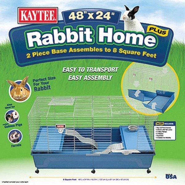 Kaytee Rabbit Home - 48 X 24 in. Best Price