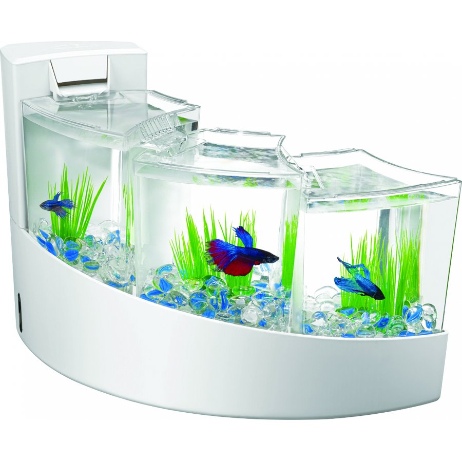 Aqueon kit betta falls aquarium supplies gregrobert for Aqueon fish tank
