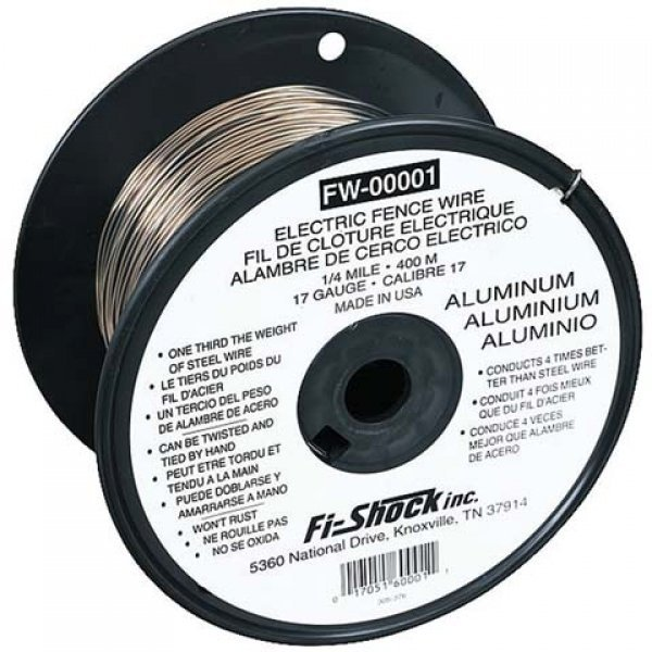 Galvanized Aluminum Wire - 1/4 mile Best Price