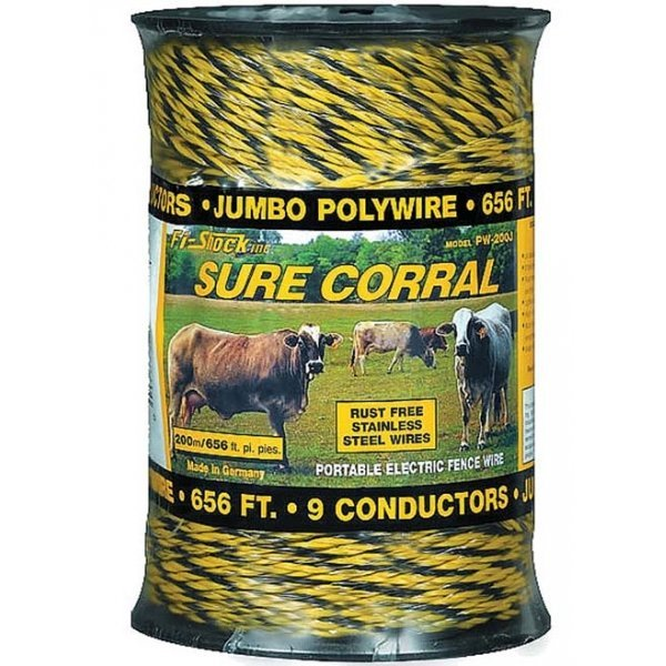 Polywire - 310 lb Breaking Load / 200 meter Best Price