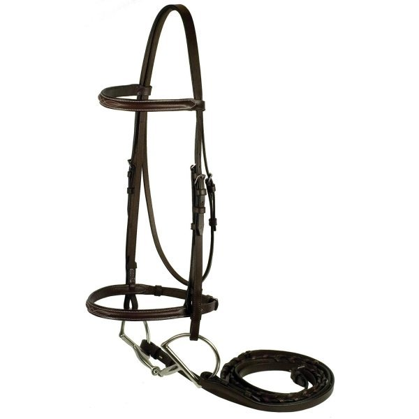 Gatsby Fancy Snaffle Bridle / Size (Horse) Best Price