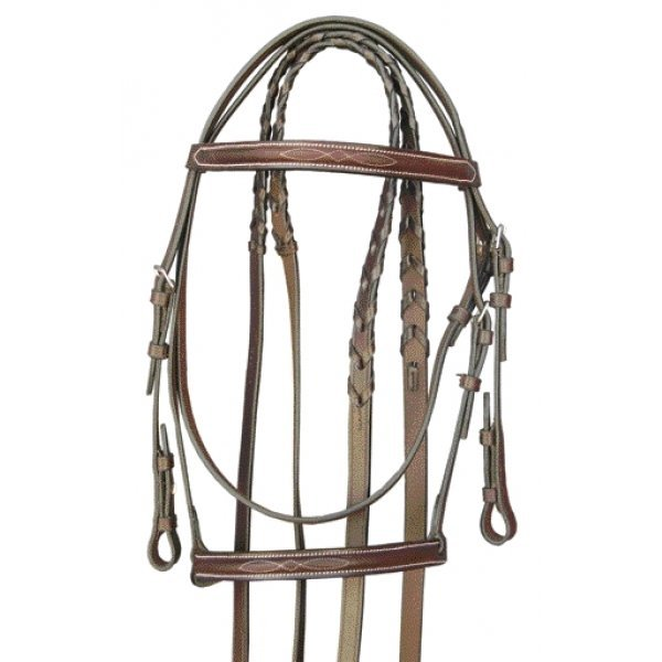 Gatsby Fancy Snaffle Bridle / Size (COB) Best Price