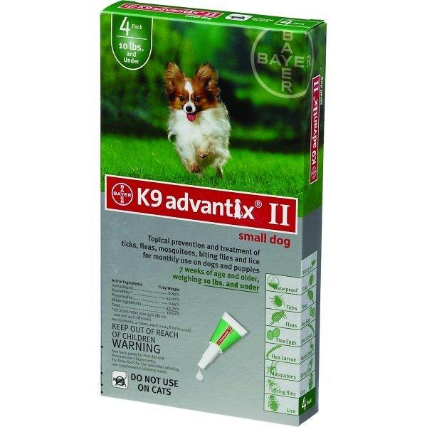 Advantix 2 Dog / Size 0 10 Lbs
