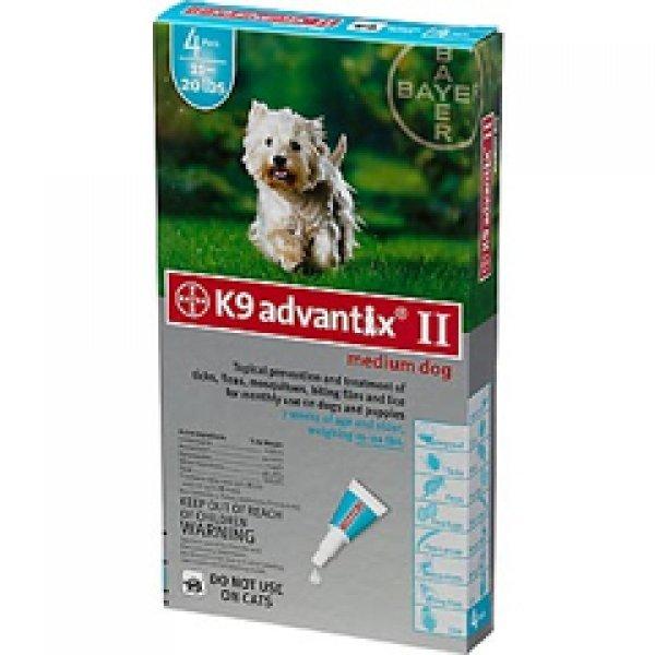 Advantix 2 Dog / Size 11 20 Lbs