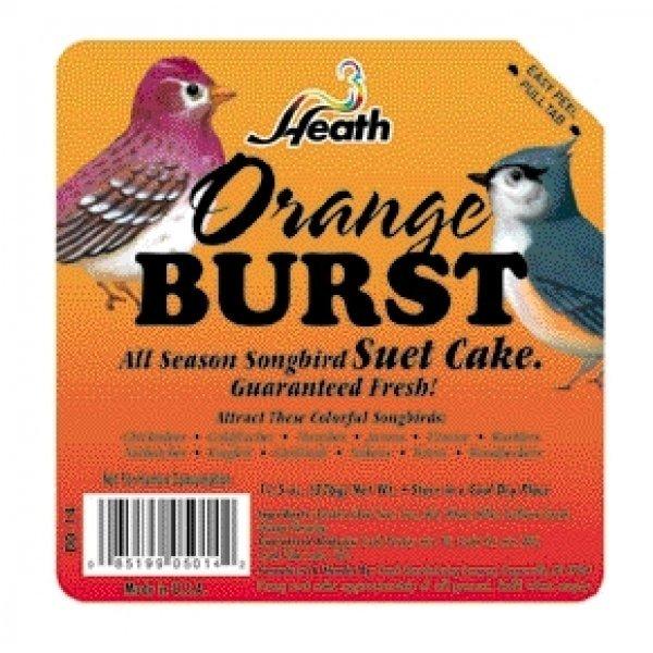 Heath Orange Burst Suet Mix 11.5 Oz