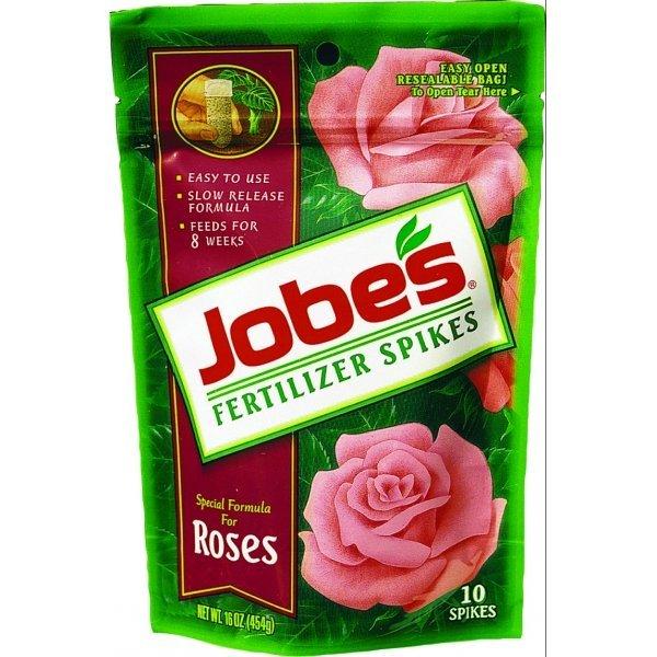 Jobes Rose Fertilizer Spike 10pk  (Case of 12) Best Price