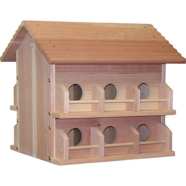 12 Room Redwood Purple Martin House Best Price