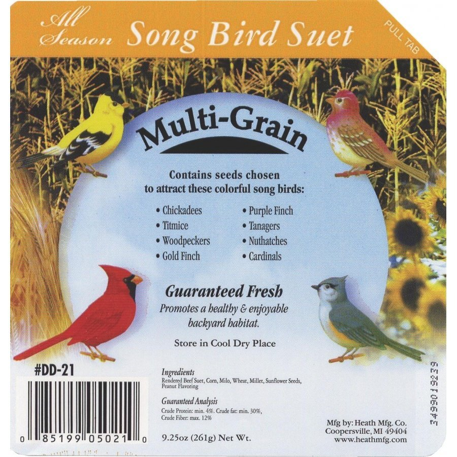 Buy Bulk Multi Grain Suet Cakes Case Of 16 Wild Bird