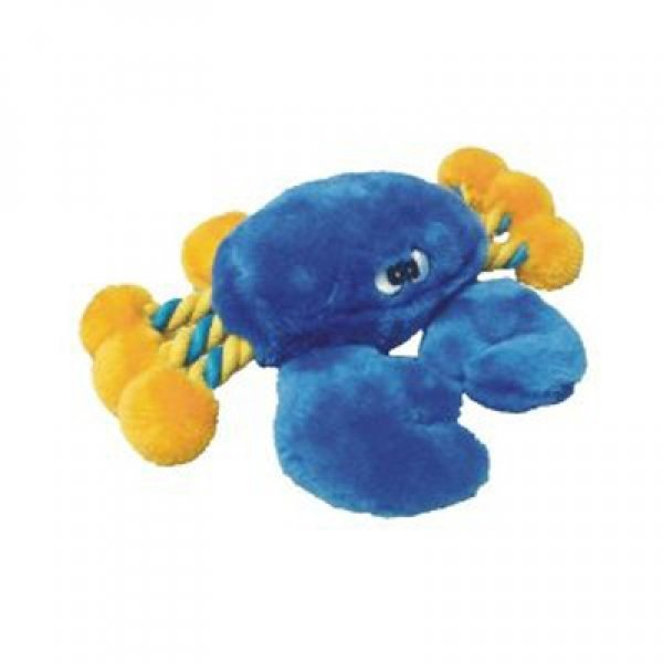 Plush Crab Dog Toy / Size 8 In.