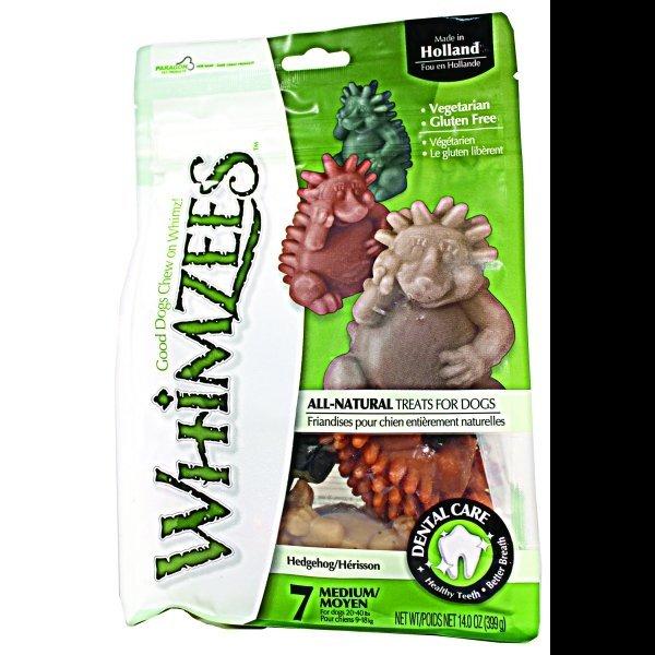 Whimzees Dog Treats / Size Medium / 7 Ct. / Hedgehog
