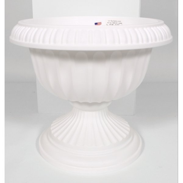 Grecian Urn Planter / Size (White 12 in.) Best Price