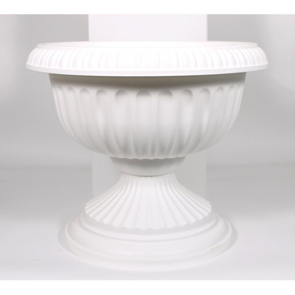 Grecian Urn Planter / Size (White 18 in.) Best Price