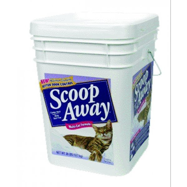 Scoop Away Multi Cat Formula Clumping Cat Litter 28 Lbs