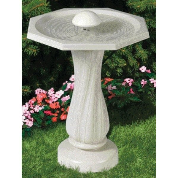 Water Rippling Bird Bath - Allied Best Price