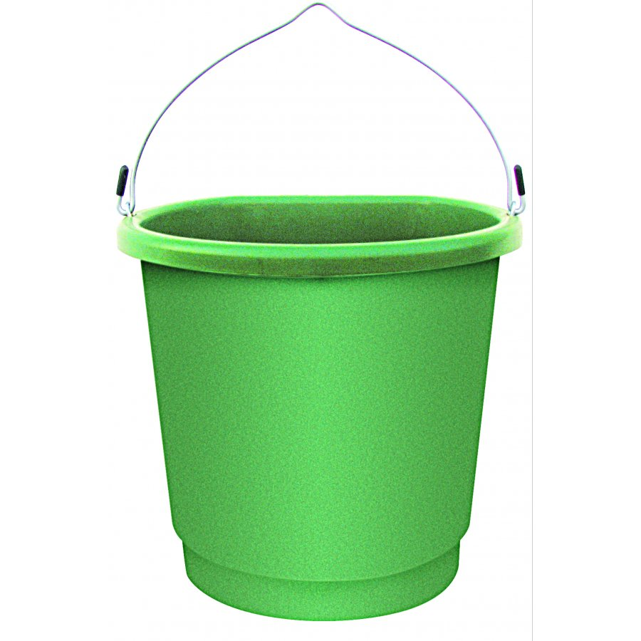 Heated Flat-back Bucket - Green / 3 gallon Best Price