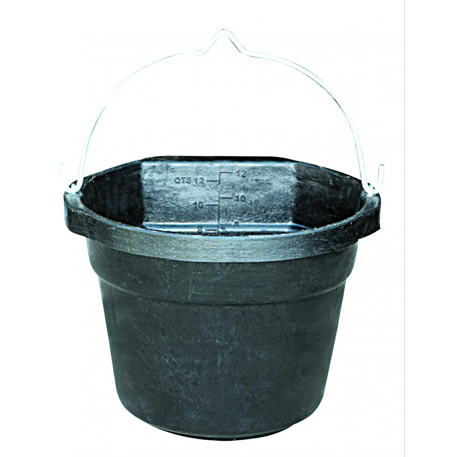 Heated Rubber Flat-back Bucket - 3 Gallon Best Price
