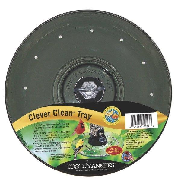 Clever Clean Bird Feeder Tray 11 in. Best Price